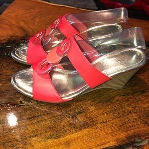 "Impo ""Valora"" wedge sandal"